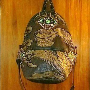 Desigual Bols Cocodrilo Large Shoulder Bag